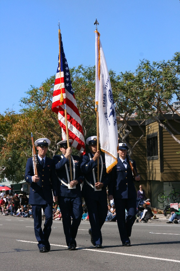 United States Coast Guard Color Guard