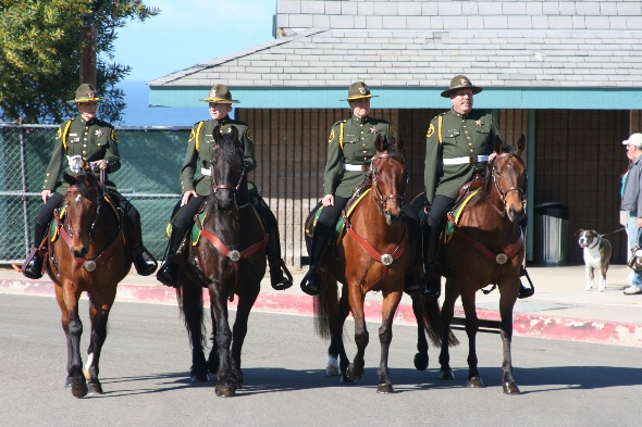 Orange County Sheriffs Mounted Color Guard