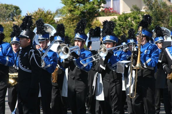 Dana Hills High School Band & Flag Team
