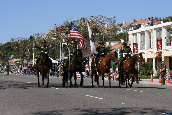 Orange County Sheriff's Mounted Color Guard