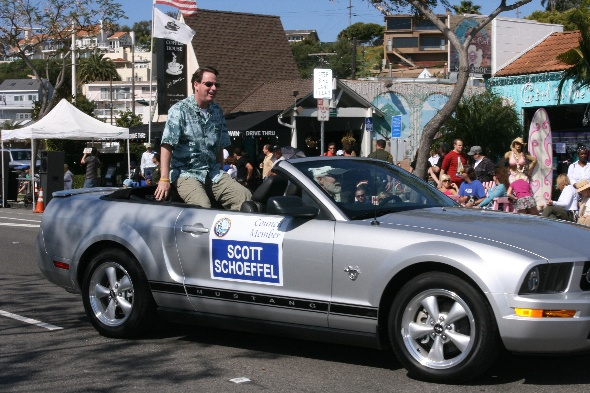 City Council Member Scott Schoeffel