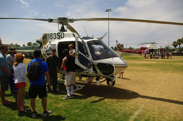 OCSD and OCFA Helicopters