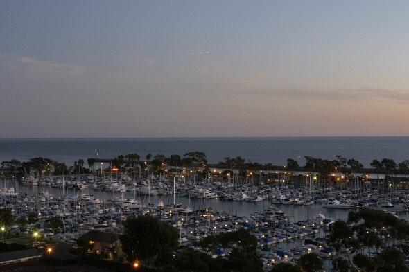 Dana Point Harbor at Dusk