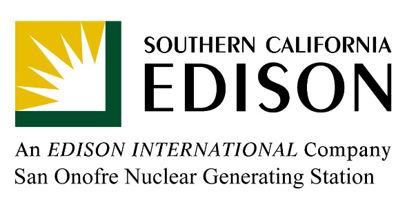 Southern California Edison - San Onofre Nuclear Generating Station