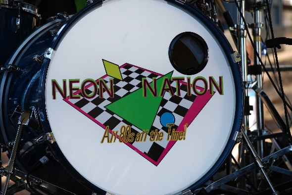 Summer Concert 2008 Neon Nation Drum