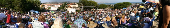 Summer Concert 2008 Hotel California Crowd