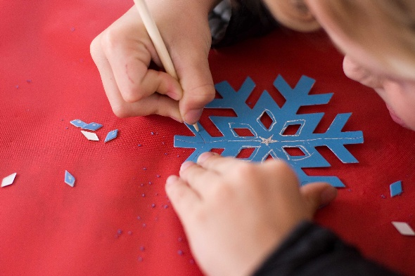 Snow Flake Crafts