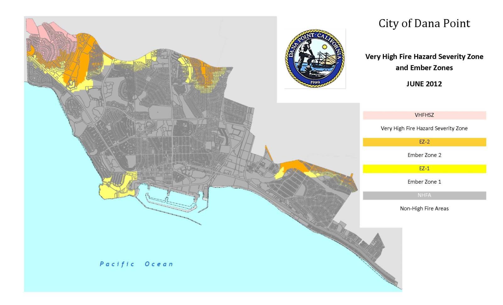 Fire Hazard Severity Zones | City of Dana Point on