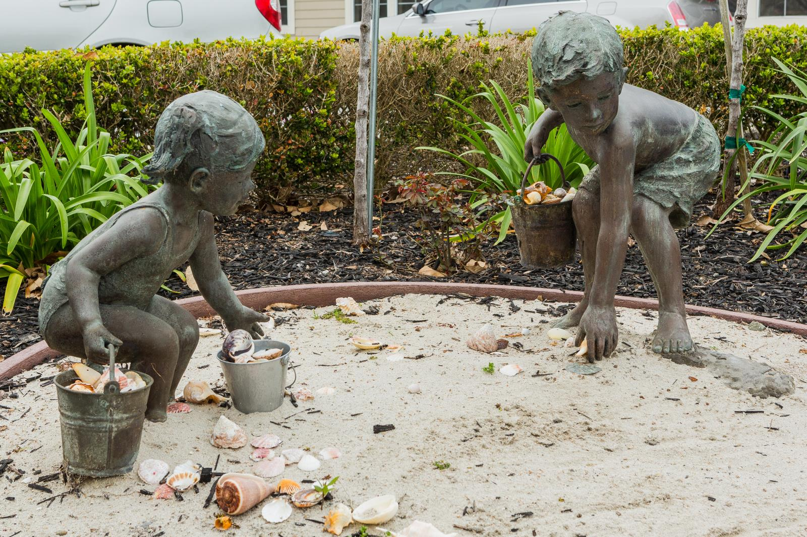 Bronze Sculpture of Children #2