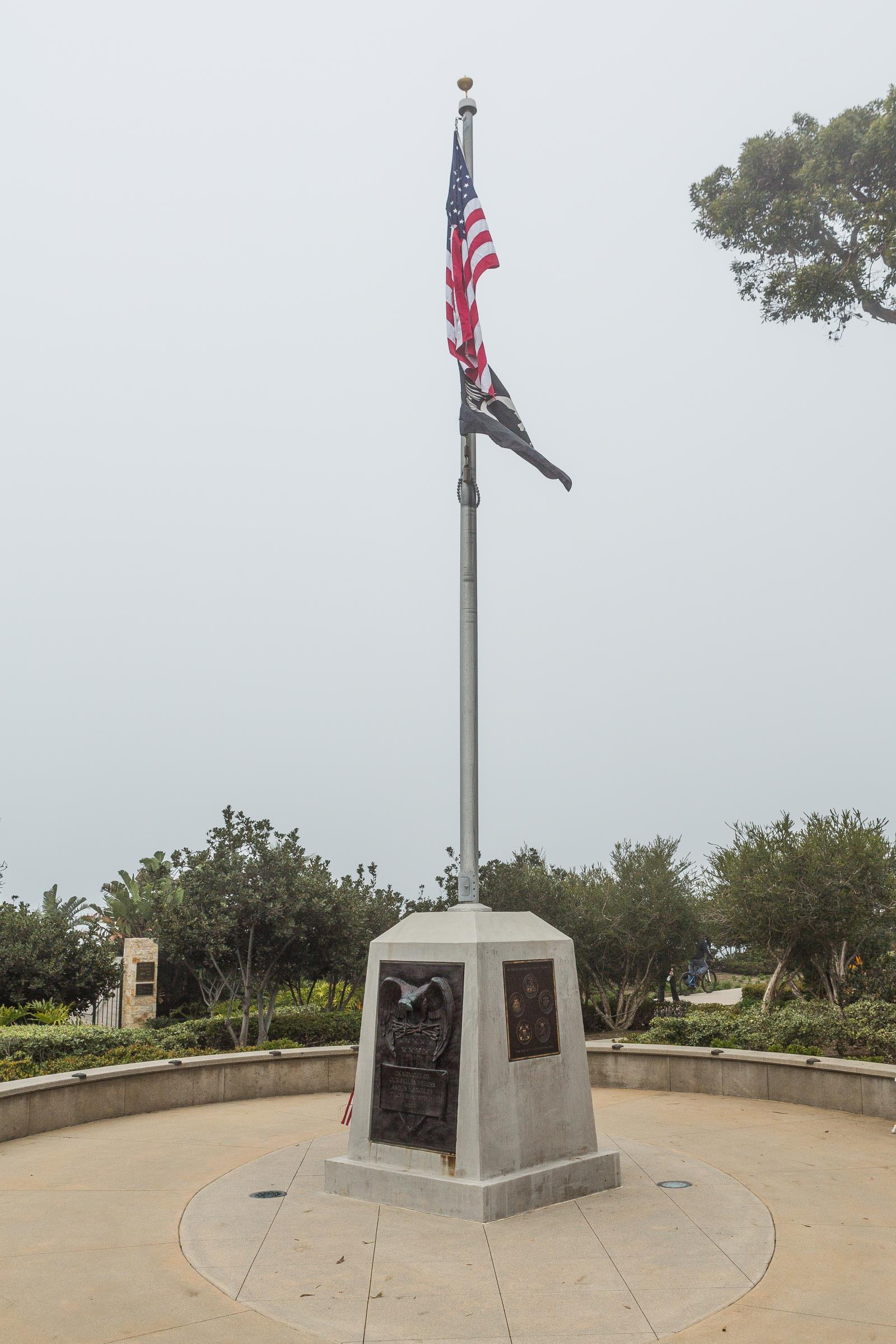 Veterans Memorial-Eagle