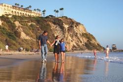 Walk On Beach Dana Point